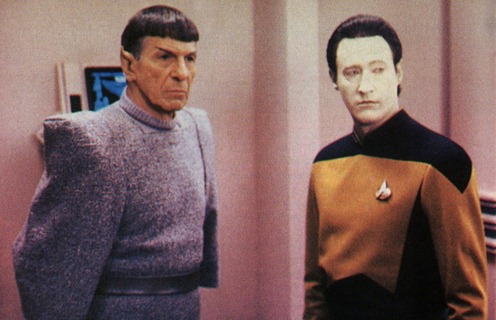 Data and Spock